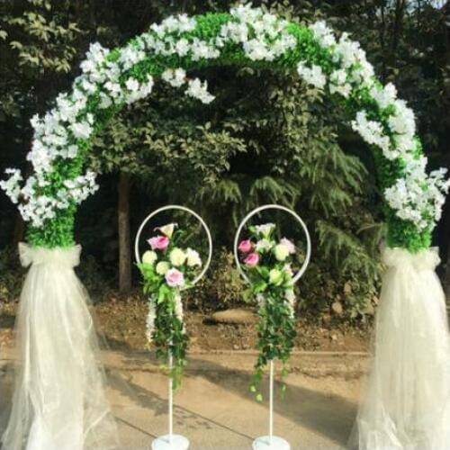 Декорация тканями свадебных торжеств