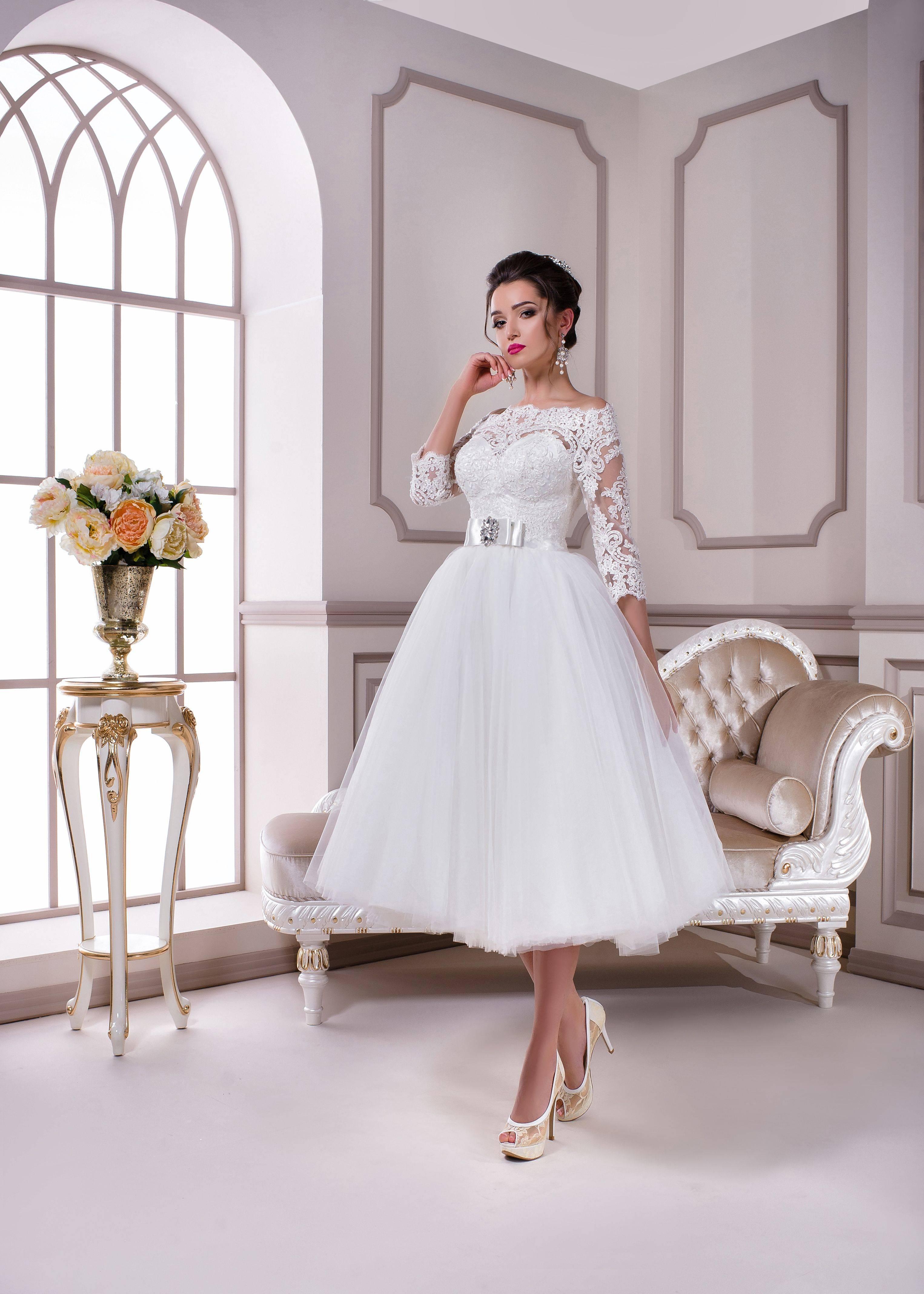 Свадебное платье-футляр – эталон элегантности, стиля и женственности