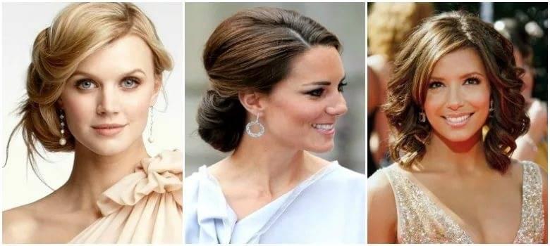 Свадебные прически на волосы средней длины с челкой. экономный вариант прически на свадьбу: для гостьи, подруги или свидетельницы. свадебные прически с косами