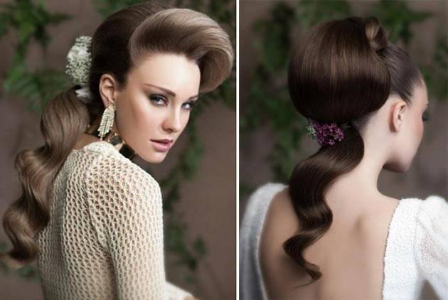 Красивые свадебные прически на короткие волосы с фото
