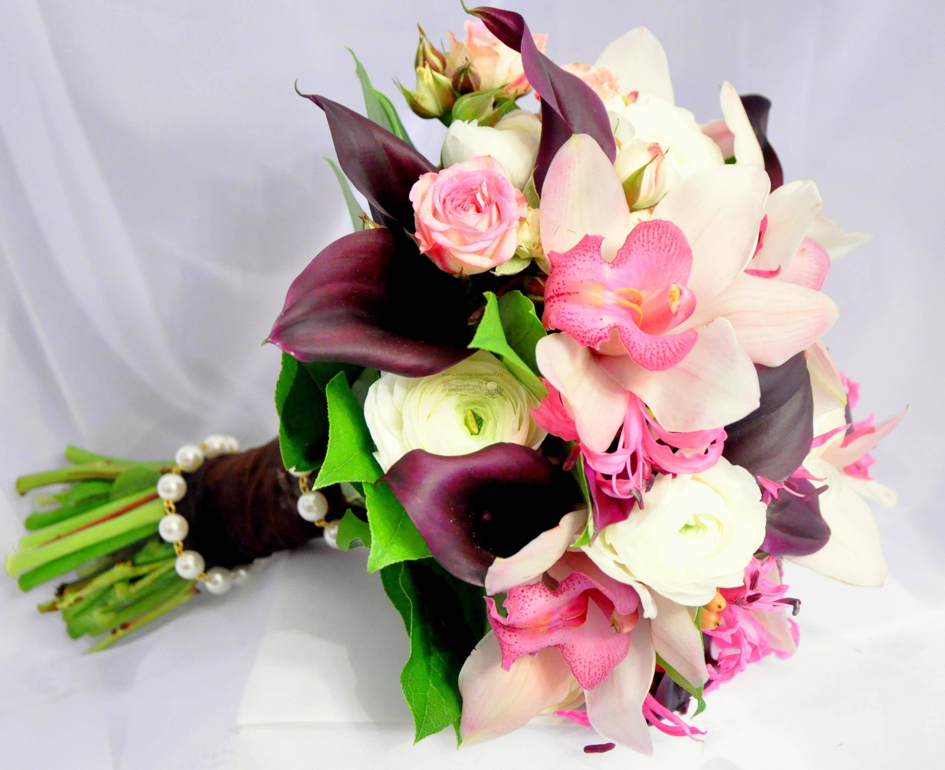 Самые красивые и модные букеты цветов 2020-2021 - фото,  модные тренды во флористике