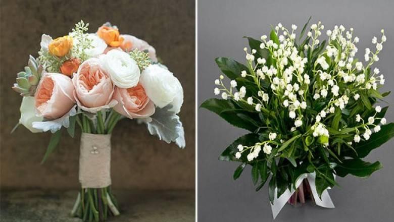 Букет невесты и бутоньерка жениха: как выбрать и сочетать?