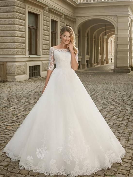 Свадебное платье для невесты маленького или невысокого роста
