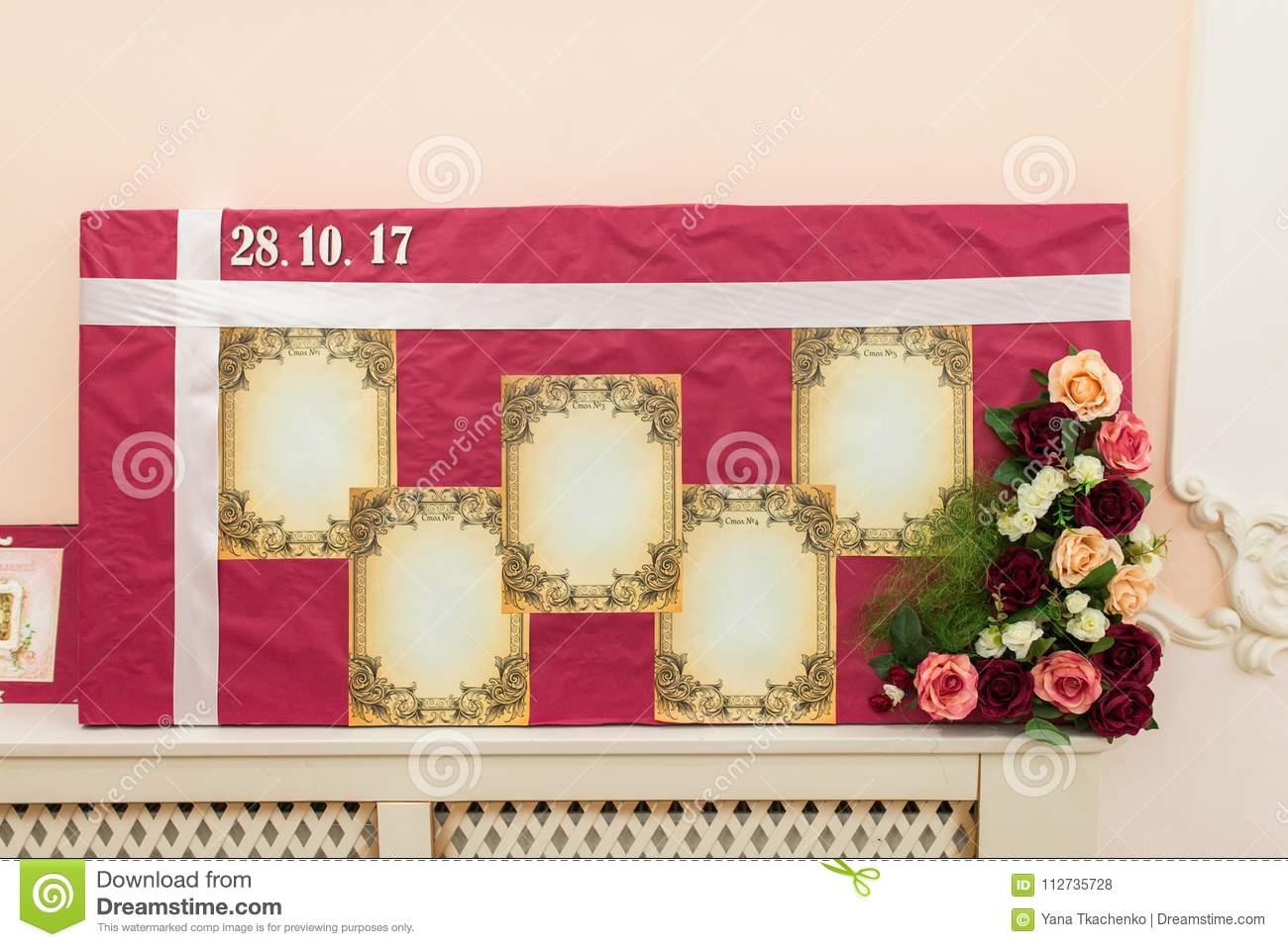 Рассадка гостей на свадьбе: схемы и план