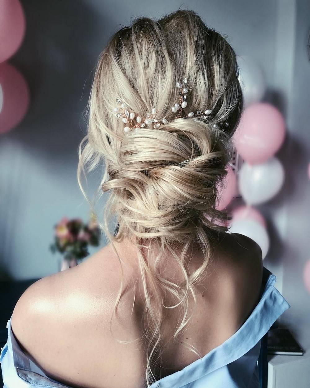 Свадебные прически 2019 – на длинные, короткие, средние волосы, с диадемой, высокие, распущенные