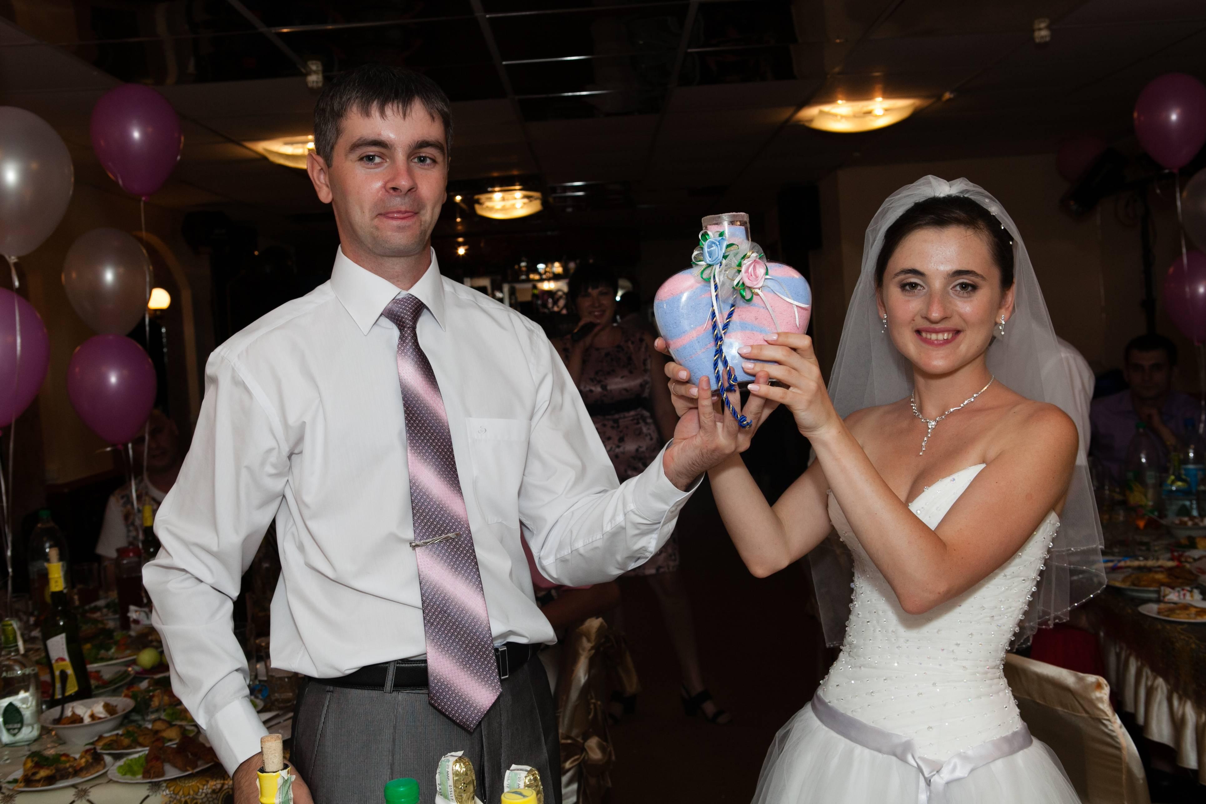 Сценарий песочной церемонии на свадьбе