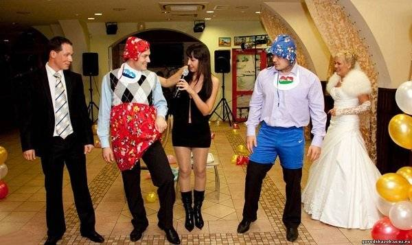 Прикольные конкурсы на свадьбу для гостей