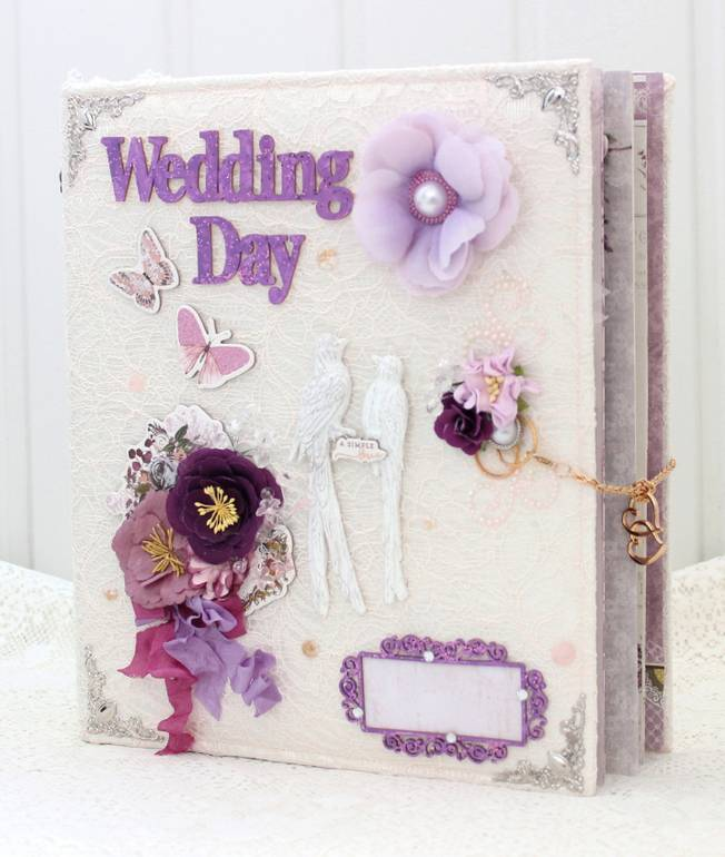 Мастер-класс по оформлению свадебного альбома своими руками