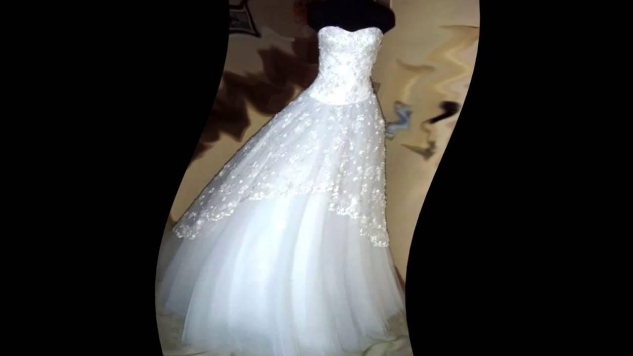 Как правильно отпарить свадебное платье