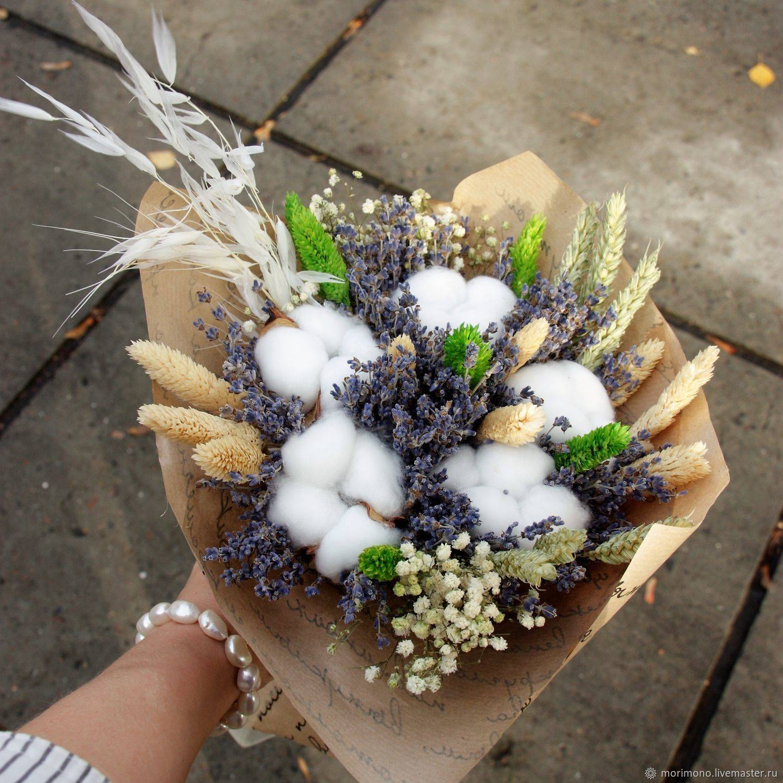 Свадебный букет невесты из ирисов