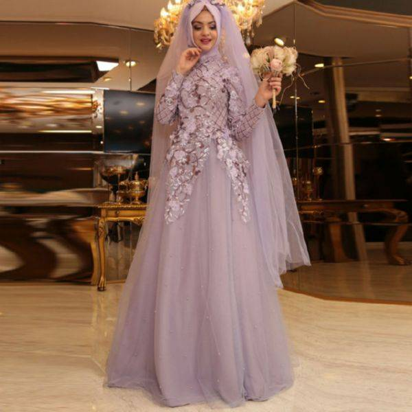 Мусульманские платья  2019-2020   модные  платья