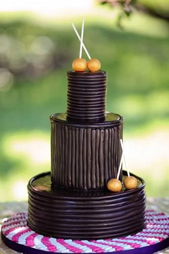 40 самых удивительных и необычных свадебных тортов года