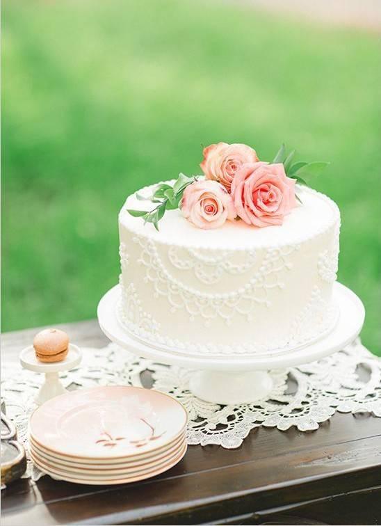 Вкусные и привлекательные свадебные торты без мастики