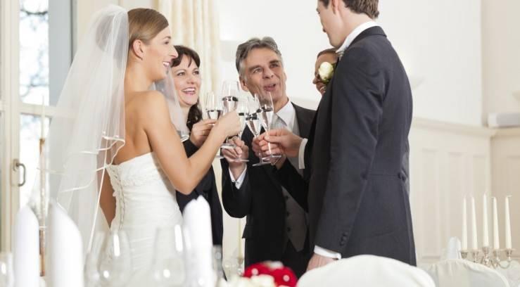 Красивые свадебные тосты за родителей, тост для родителей