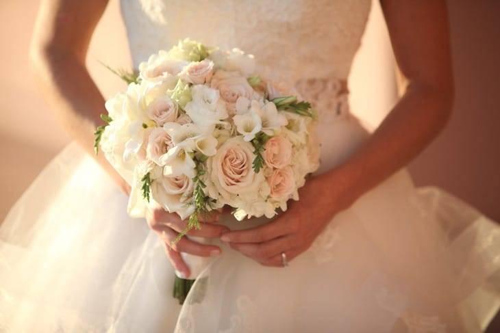 Свадебные букеты из анемоны