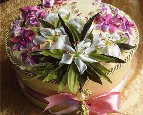 Цветы из лент своими руками: интересные мастер классы