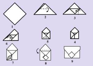 Как сделать конверт на свадьбу своими руками?