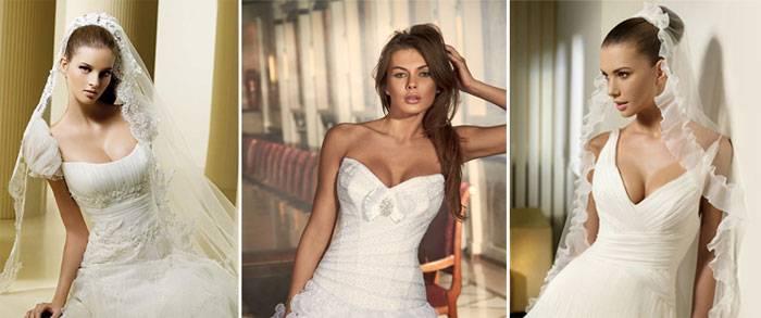 Фасоны свадебных платьев: топ-5 основных силуэтов