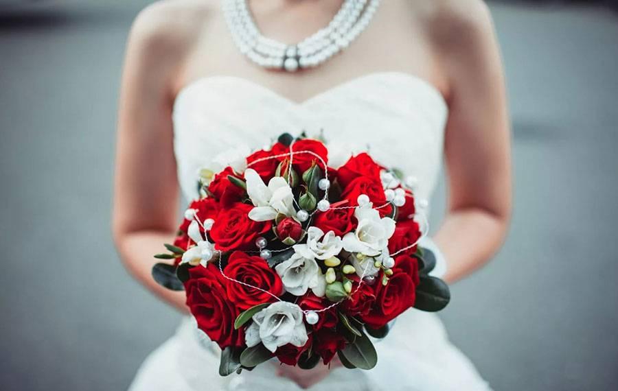 Нежная свадьба в голубом цвете
