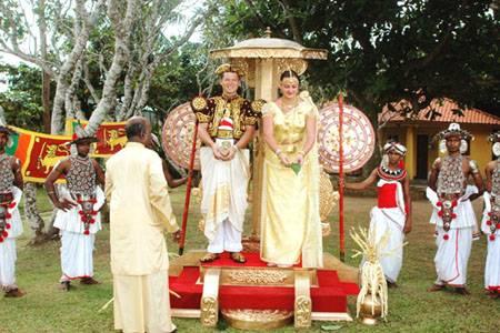 Свадьба на шри-ланке: красивая сказка