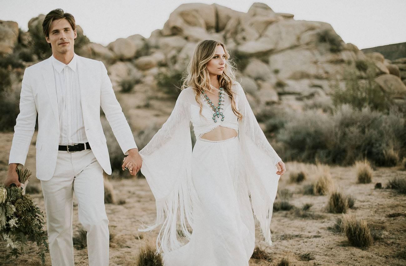 Бохо свадьба  свадебная прическа в стиле бохо
