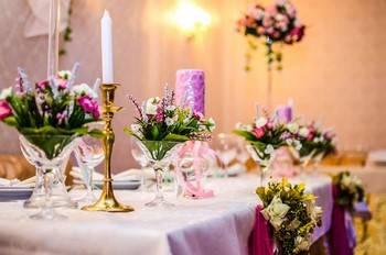 Банкетное меню на свадьбу: пример, как правильно составить его