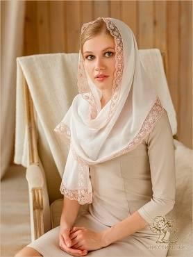 Как правильно выбрать платок для невесты