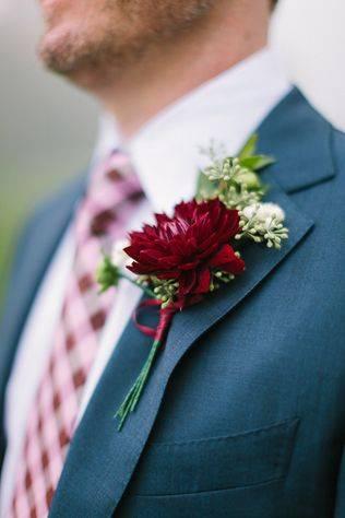 Как сделать бутоньерку на свою свадьбу