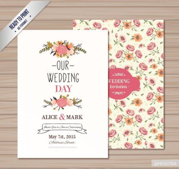 Приглашения на свадьбу в электронном виде