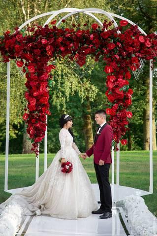 Свадьба в бордовом цвете: идеи для оформления бордовой свадьбы, фото