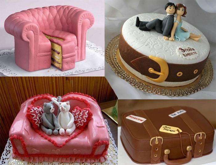 Идеи тортов на 1 год свадьбы ситцевую годовщину, как украсить идеи тортов на 1 год свадьбы ситцевую годовщину, как украсить