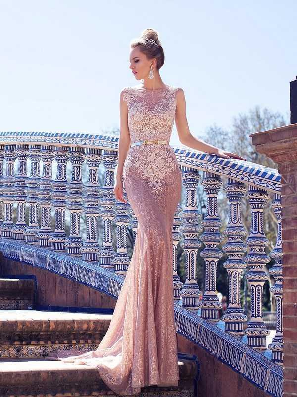 Платье-рыбка – блистать просто в свадебный день!