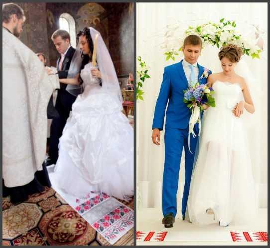 Рушник на свадьбу (23 фото): каким должно быть свадебное полотенце для иконы и что с ним делать после церемонии?