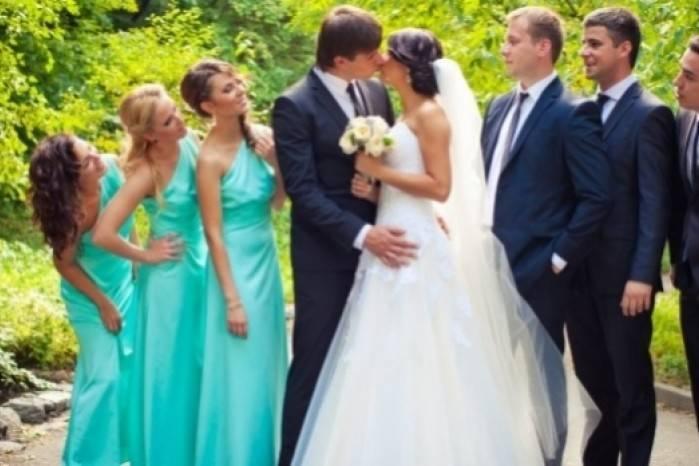 Свидетельница на свадьбе