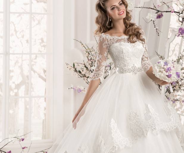 Свадебные платья с рукавами — проблема выбора, преимущества, зимние варианты + 82 фото