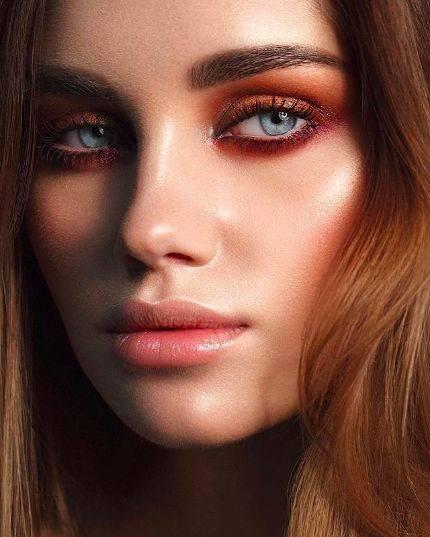 Нежный свадебный макияж: 17 идей