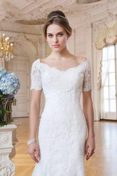 Свадебные платья для невест маленького роста: лучшие фасоны