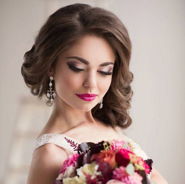 Макияж на свадьбу для невесты: советы и фото