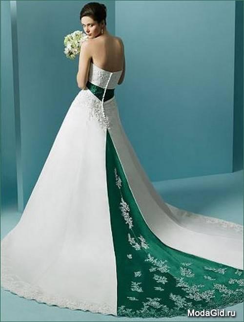Бело-зеленый букет для невесты: выбираем свадебные цветы в бело-зеленых тонах
