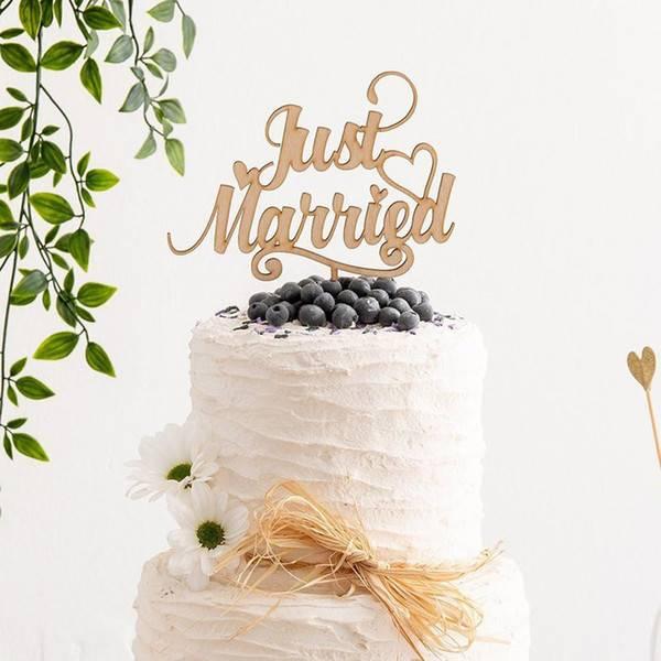 Топ-10 модных идей для свадебного торта