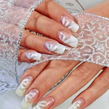 Красивый свадебный маникюр 2020-2021: топ-10 идей свадебного маникюра невесты на фото