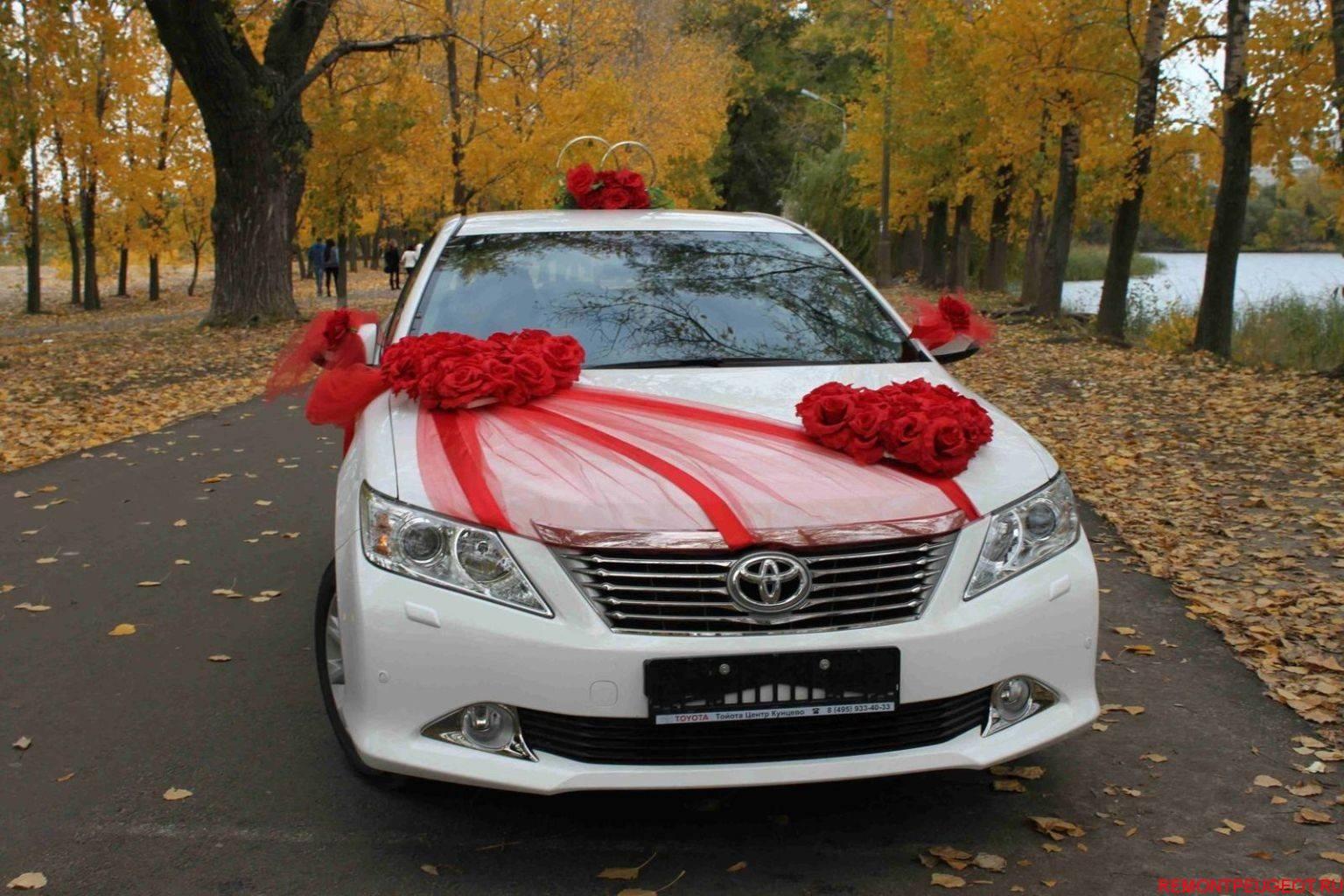 Украшаем машину на свадьбу своими руками