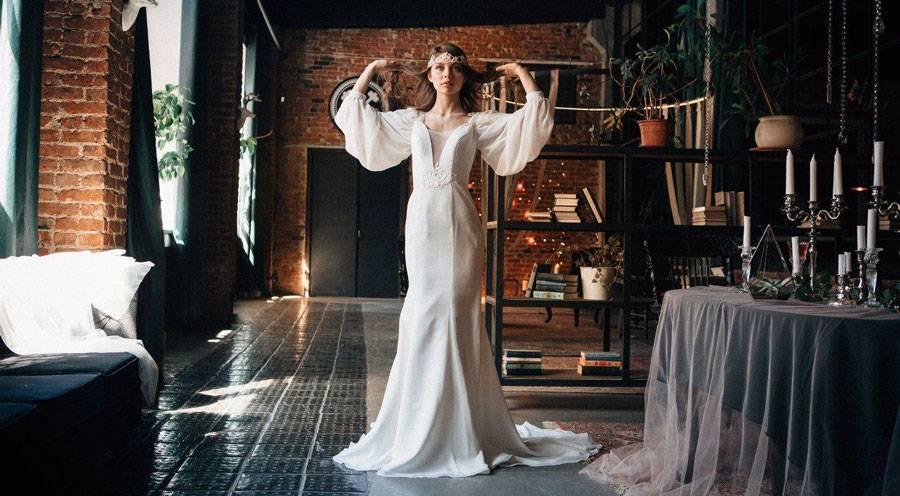 Свадьба в стиле «лофт» (54 фото): оформление весенней свадебной церемонии, варианты наряда и украшений для образа невесты