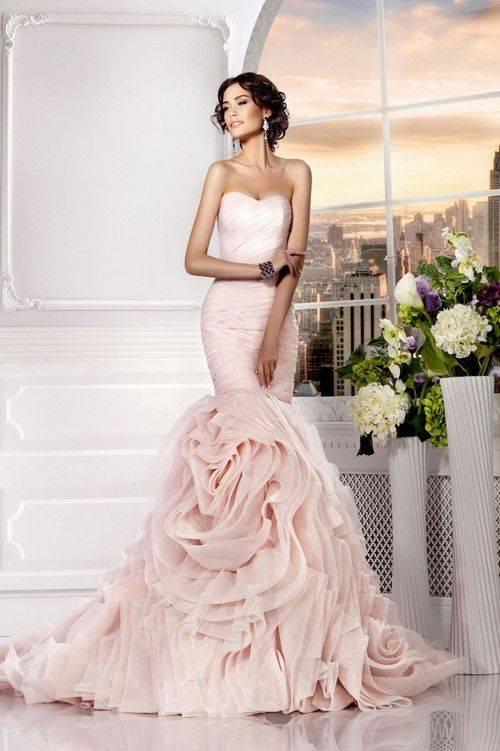 Свадебные платья рыбка | victoria spirina