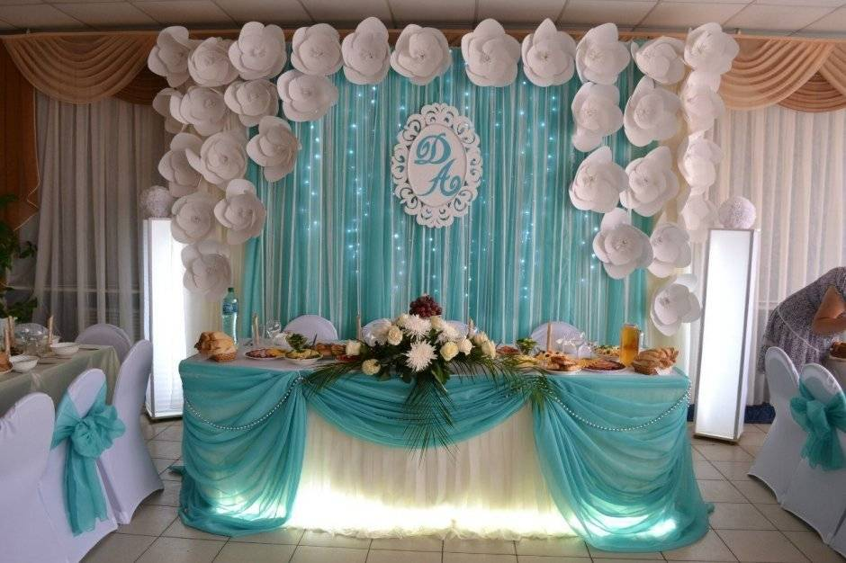 Свадебный декор — варианты украшения и идеи праздничного оформления для торжественного мероприятия (125 фото)