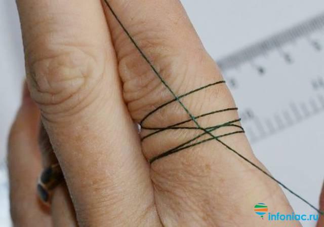 Как измерить палец для кольца в домашних. как определить размер кольца в домашних условиях тремя способами