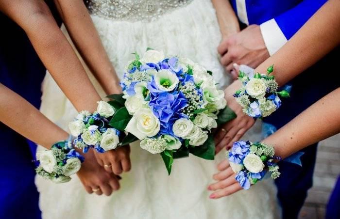 7 причин сделать своими руками цветочные корсажи для подружек невесты