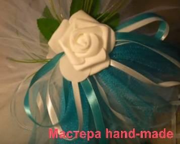Оформление свадебной машины. мк | страна мастеров
