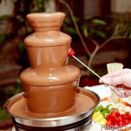 Шоколадный фонтан как способ привлечения клиентов