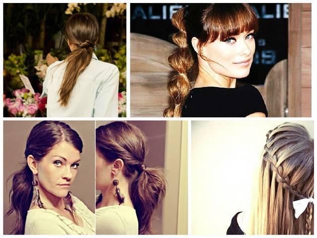Прическа низкий пучок — как сделать на средние или длинные волосы